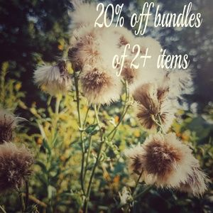 Other - 20% off bundles of 2+ items
